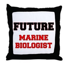 Future Marine Biologist Throw Pillow