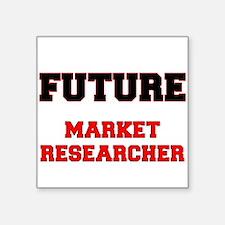 Future Market Researcher Sticker