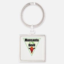 Monsanto is the Devil Keychains