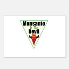 Monsanto is the Devil Postcards (Package of 8)