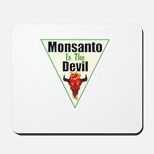 Monsanto is the Devil Mousepad
