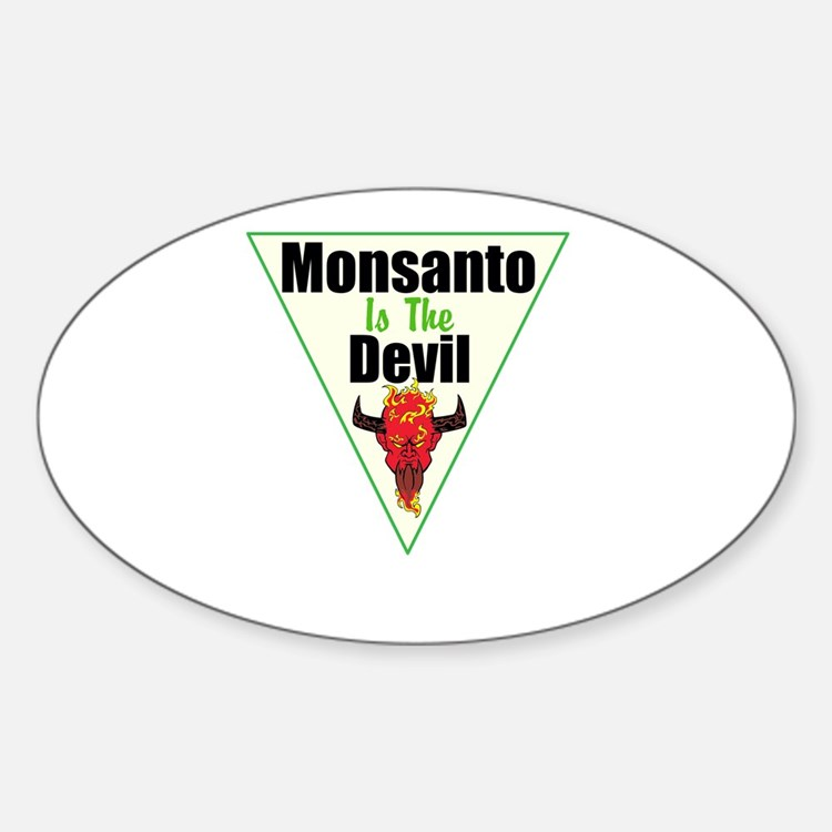 Monsanto is the Devil Decal
