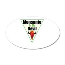 Monsanto is the Devil Wall Decal