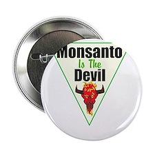 """Monsanto is the Devil 2.25"""" Button"""