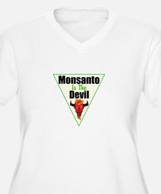 Monsanto is the Devil Plus Size T-Shirt
