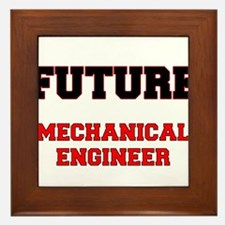 Future Mechanical Engineer Framed Tile