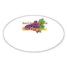 Dont Eat GMO Junk Go Organic Decal