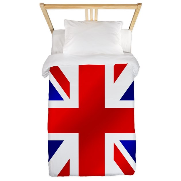 Union Jack Uk Flag Twin Duvet By Worldsoccerstore