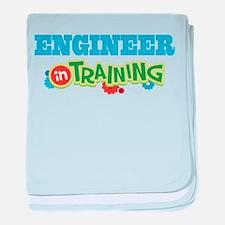 Engineer in Training baby blanket