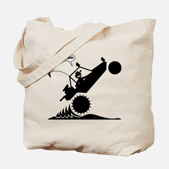 SAND RAIL WHEELIE Images Tote Bag