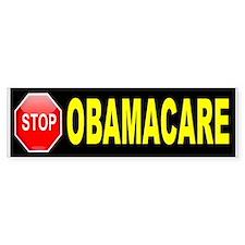 STOP OBAMACARE BUMPER_001.jpg Bumper Bumper Sticker
