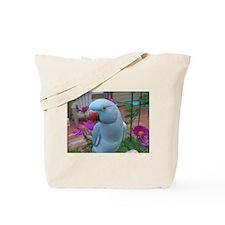 Indian Ringneck Parakeet Closeup Tote Bag