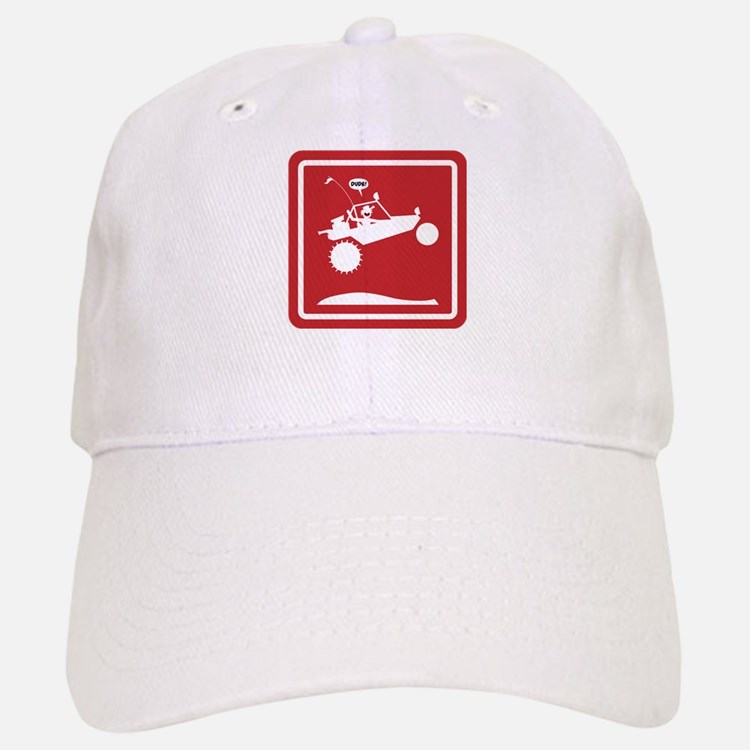 SAND RAIL Jumping Caution Signs Baseball Baseball Baseball Cap