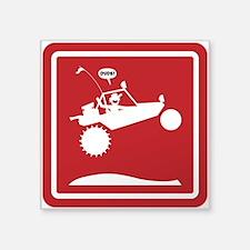 SAND RAIL Jumping Caution Signs Sticker