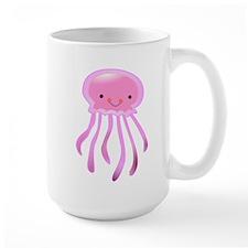 Cute Pink Octopus Mug