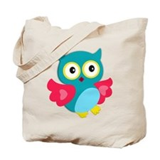 Happy Owl Tote Bag