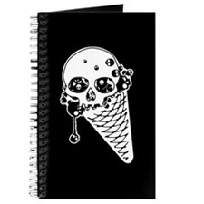 Evil Skull Ice Cream Journal