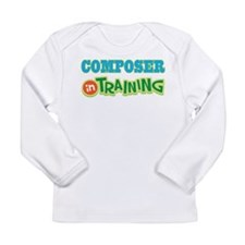 Composer in Training Long Sleeve Infant T-Shirt
