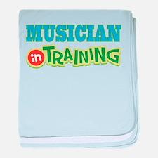 Musician in Training baby blanket