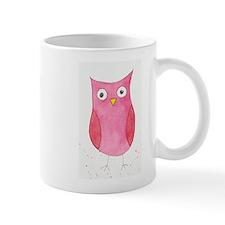 Pink Owl Small Mug