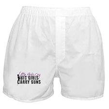Big Girls Carry Guns Boxer Shorts