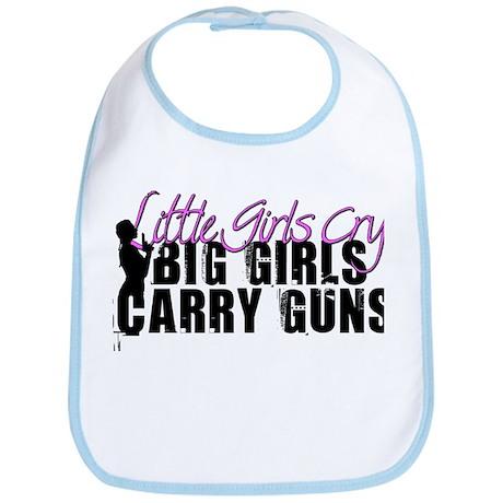 Big Girls Carry Guns Bib