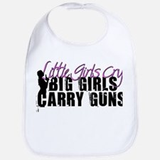 Big Girls Carry Guns Bib