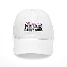 Big Girls Carry Guns Baseball Cap