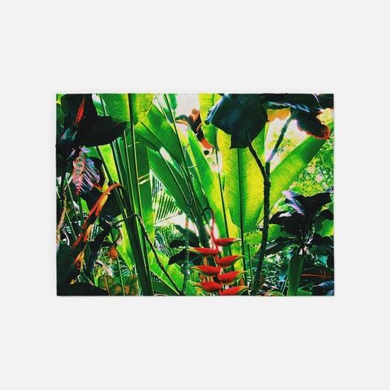 Tropical 2 5'x7'Area Rug