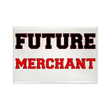 Future Merchant Rectangle Magnet