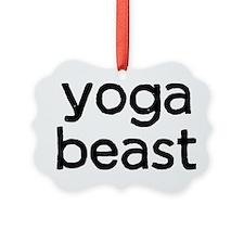 Yoga Beast Ornament