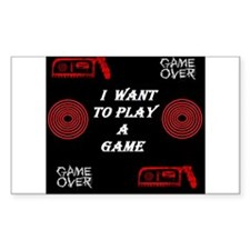 I want to play a game Decal