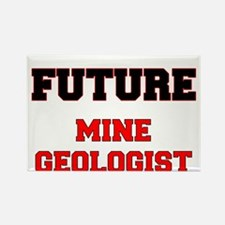 Future Mine Geologist Rectangle Magnet