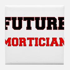 Future Mortician Tile Coaster