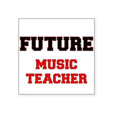 Future Music Teacher Sticker