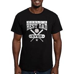 World's Best Dad Ever Baseball T