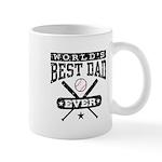 World's Best Dad Ever Baseball Mug