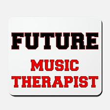 Future Music Therapist Mousepad