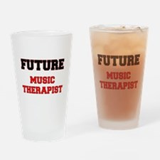 Future Music Therapist Drinking Glass