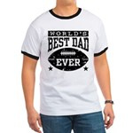 World's Best Dad Ever Football Ringer T