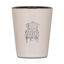 Westie Chairmen Shot Glass