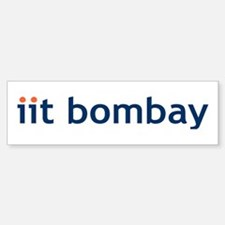 Iit Bombay Bumper Bumper Bumper Sticker