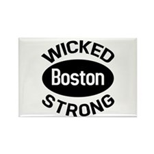 Boston Wicked Strong Rectangle Magnet