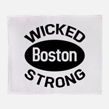 Boston Wicked Strong Throw Blanket