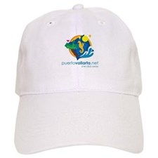 PuertoVallarta.net Logo Baseball Baseball Cap