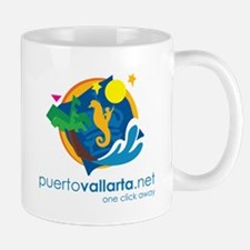 PuertoVallarta.net Logo Mug