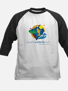 PuertoVallarta.net Logo Baseball Jersey