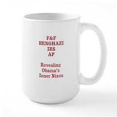 Revealing Obamas Inner Nixon Mug