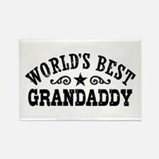 World's Best Grandaddy Rectangle Magnet