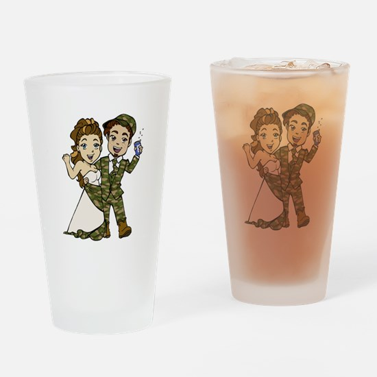 Redneck Wedding Drinking Glass